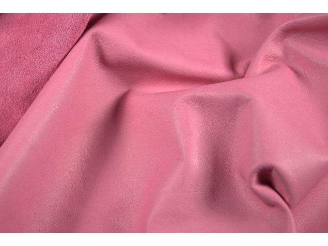 Teľacia useň - formát -  ružová, lesk