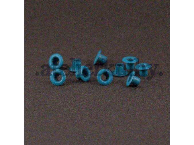 tyrkysové priechodky 7/3mm