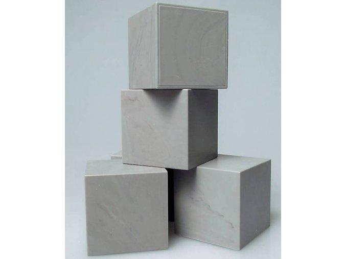 Kocka do exploding boxu šedá