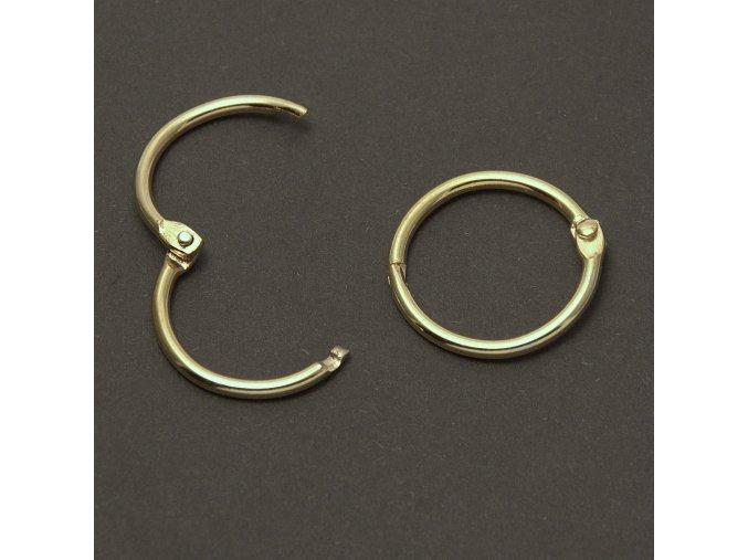 albumove kruzky zlate 25 31mm