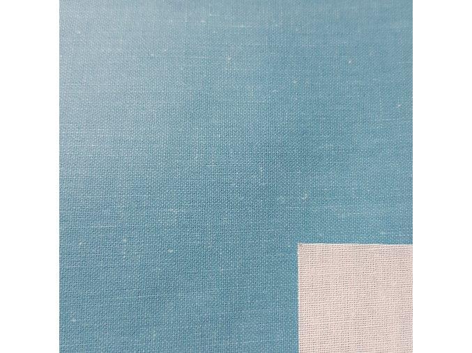 P15 plátno svetlo modré s nitkou