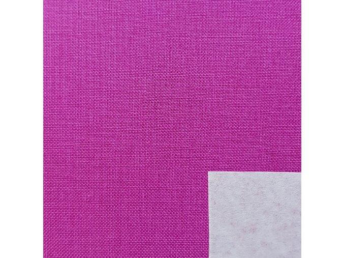 knihárske plátno tmavo ružové 601