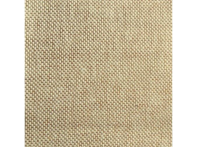 Režné plátno 624 coloret hnedý natural laminované