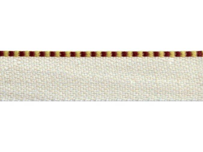 Kapitálik 1800 bordó-žltý P188-1205 MO
