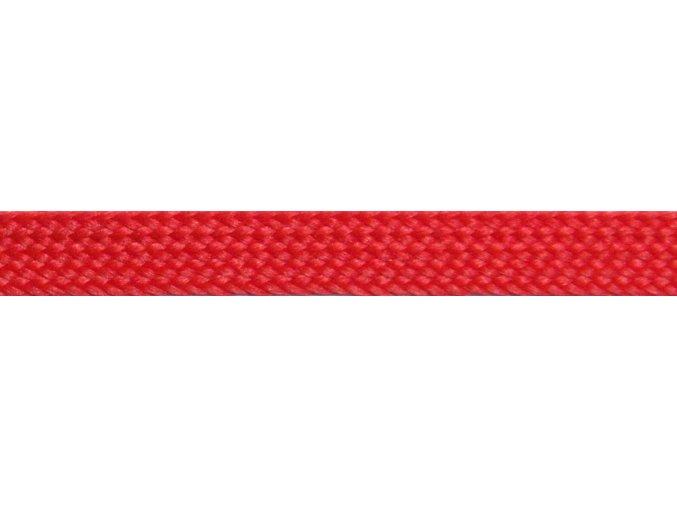 Lacetka P186 0402 červená matná