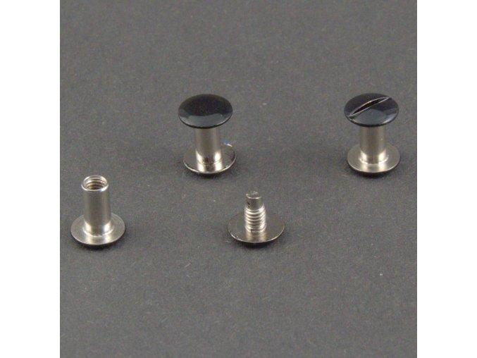 10mm čierna nikel 2005110,10