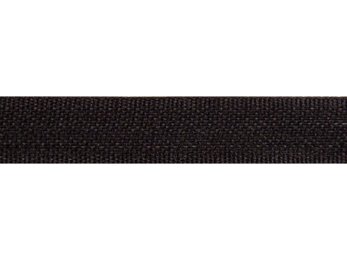 Plátnová stuha čierna 10mm