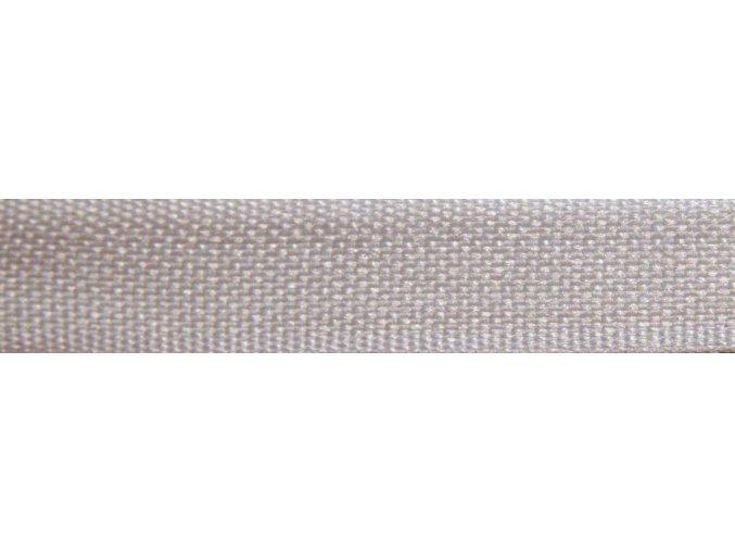Plátnová stuha biela 10mm