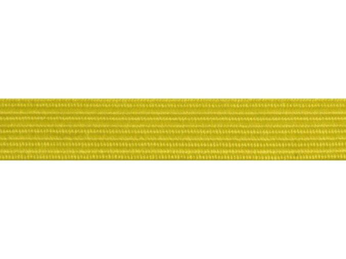 Guma plochá 7mm žltá P395