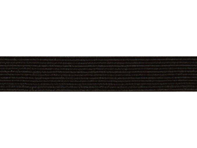 Guma plochá 7mm čierna