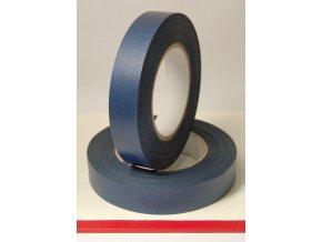 Chrbátová páska modrá 25mm/50m samolepiacia