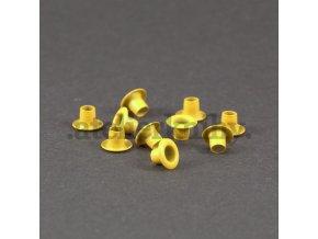 Priechodky 7,5/4mm žlté