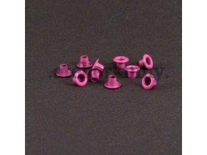priechodky 7/3mm ružové