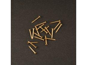 Mosadzne klinčeky 12mm