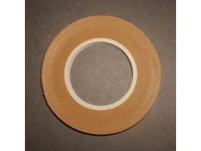Obojstranná lepiaca fóliová páska 12mm/50m, nosič silikónový papier