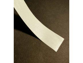 Chrbátová páska biela 50m, 25/50mm