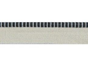 Kapitálik 0101 tm.modro(až čierno)-biely P546-biela