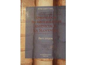 sprievodca po historickych knizniciach na Slovensku