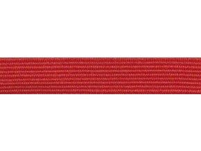 Guma plochá 7mm červená P200