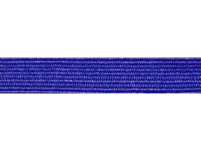 Guma plochá 7mm modrá P287