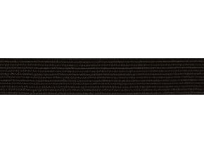 Guma plochá 7,4mm čierna