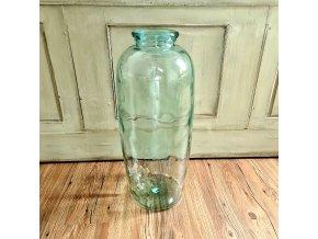Skleněná váza 70cm