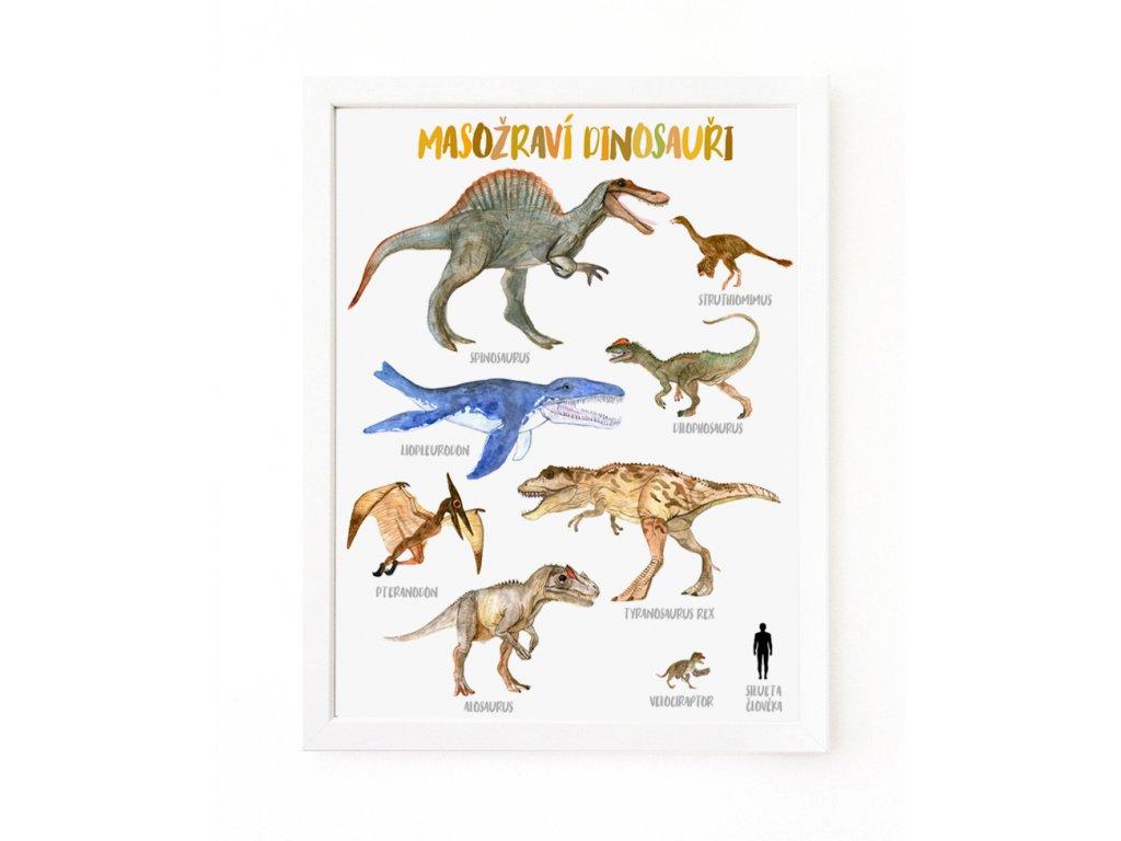 dinosauri masozravi
