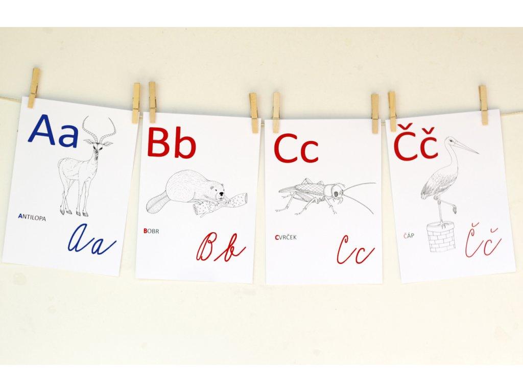 abeceda omalovanka 03