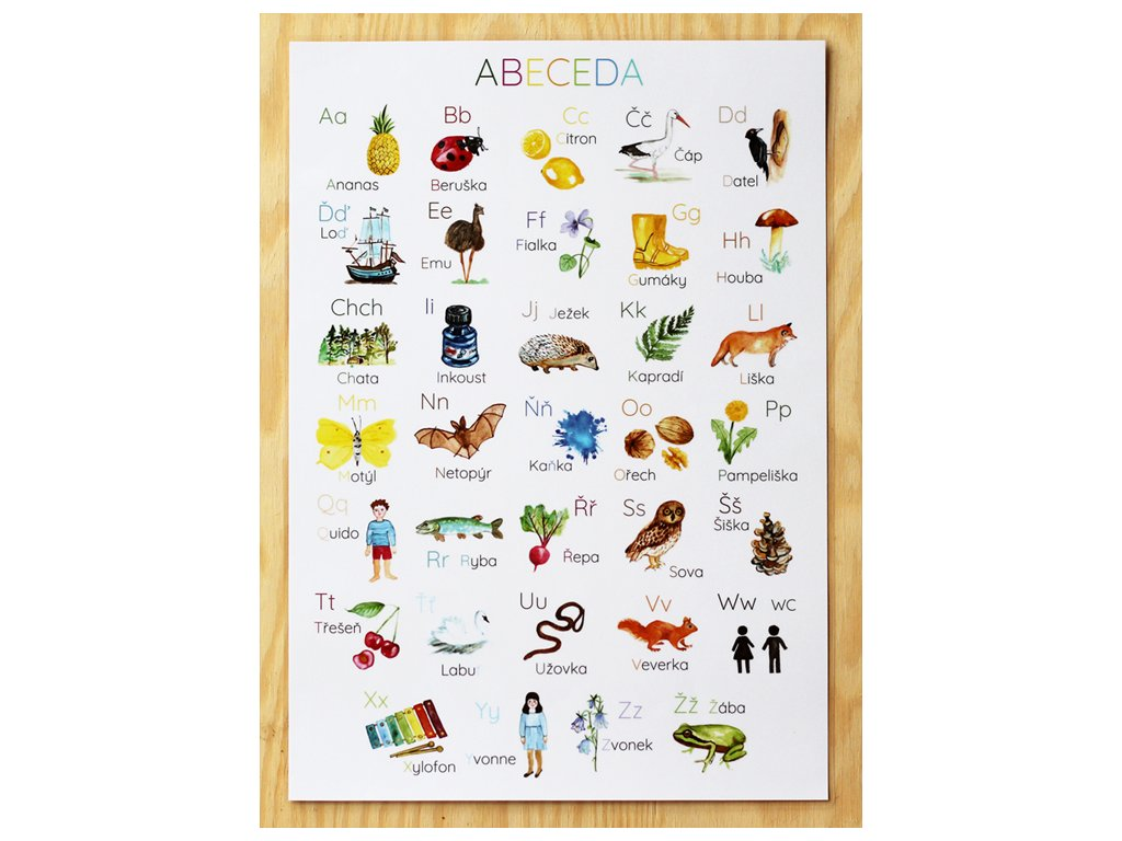abeceda plakat