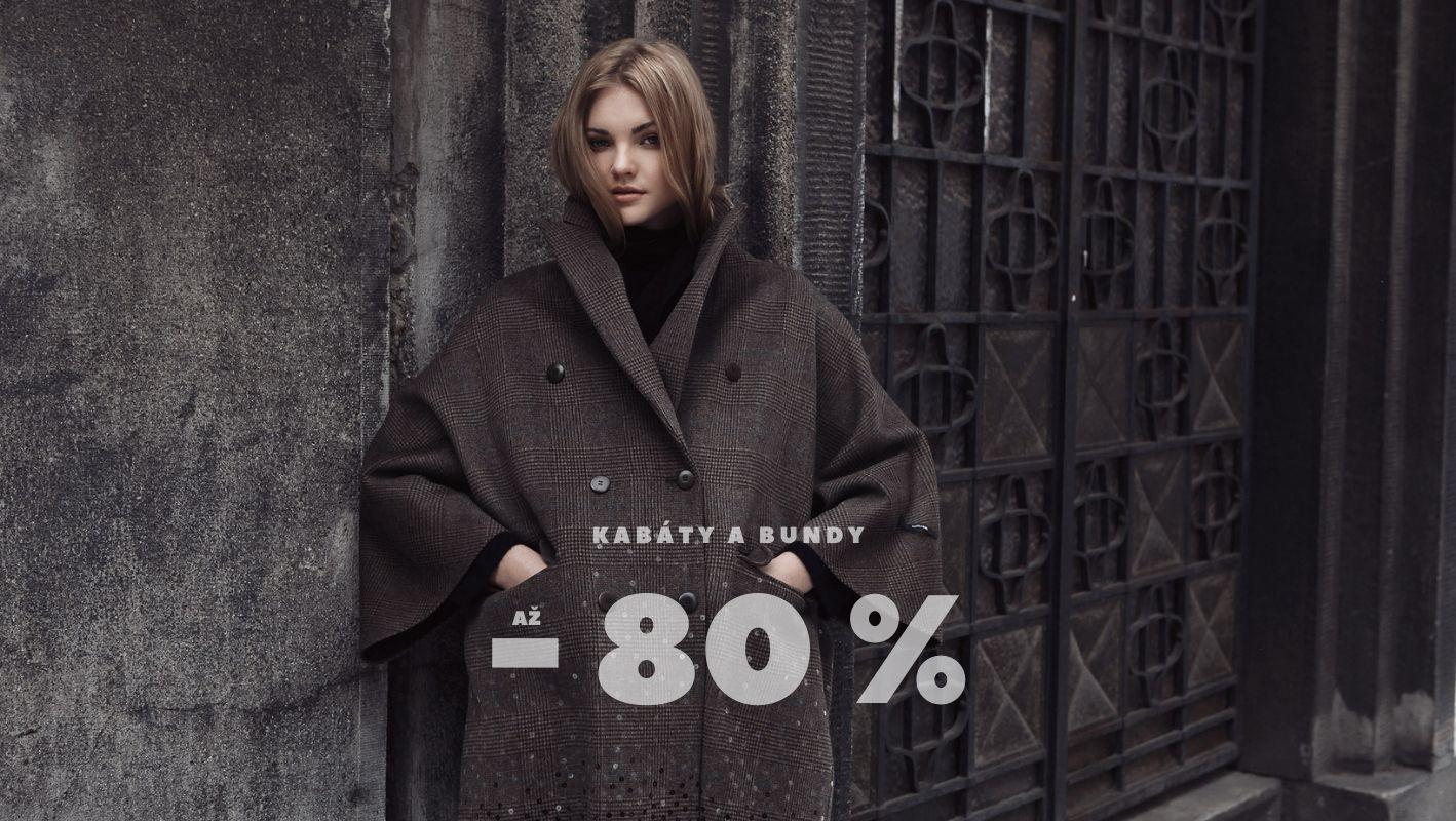 Kabáty a bundy se slevou až 80 %