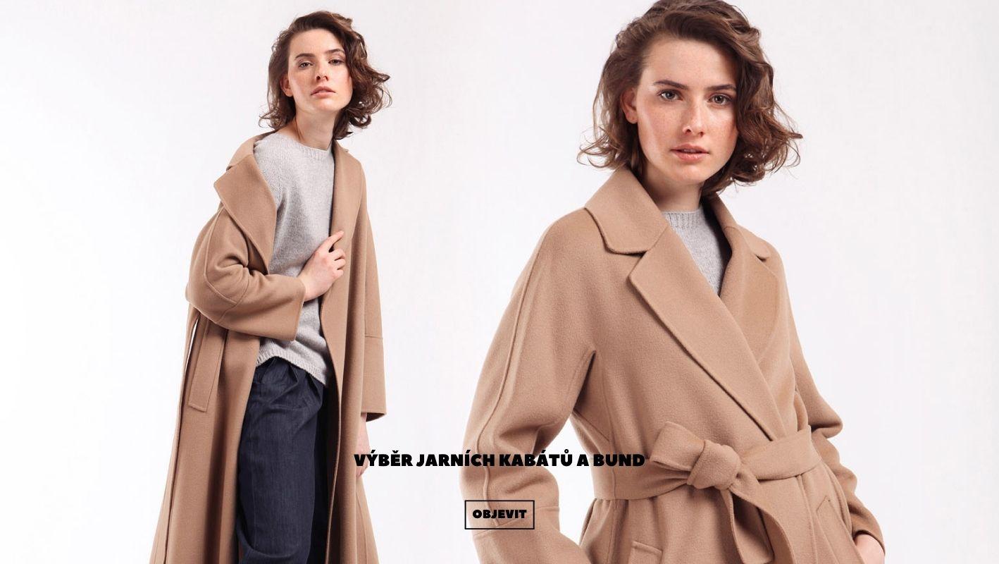 Výběr jarních kabátů a bund
