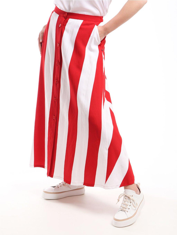 CAPRIOLO pruhovaná sukně