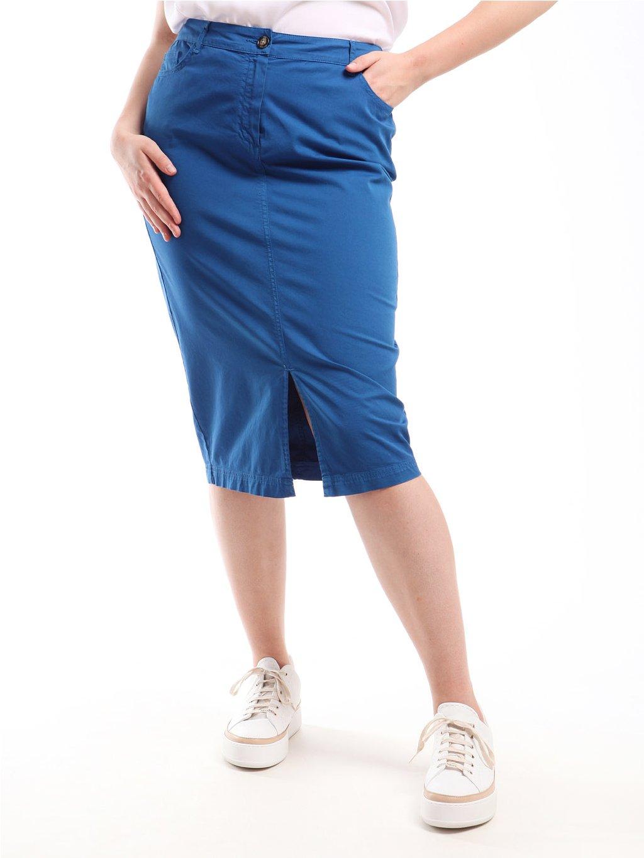 CAROTENE modrá sukně