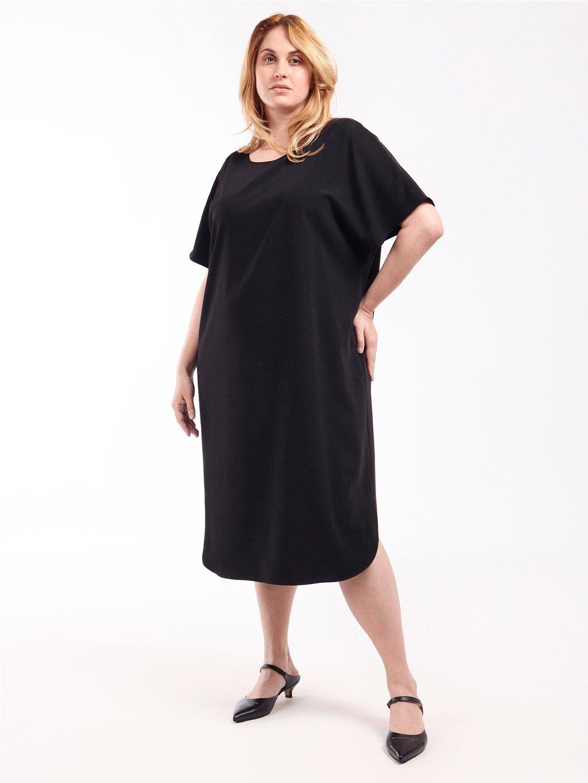 DALMATA černé šaty