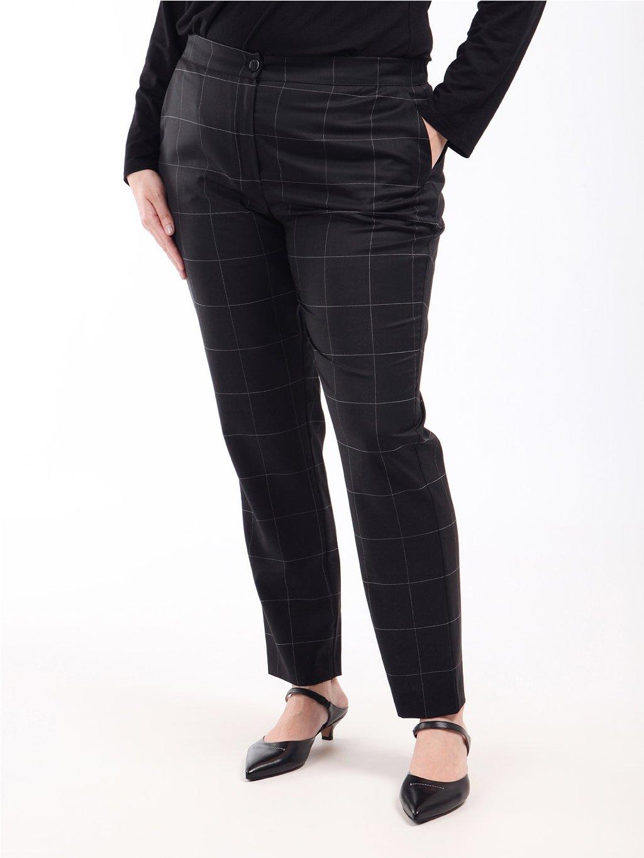 RIO kostkované kalhoty