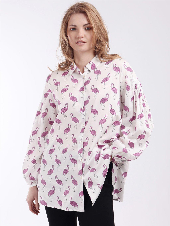 Vzorovaná košile  MARINA RINALDI