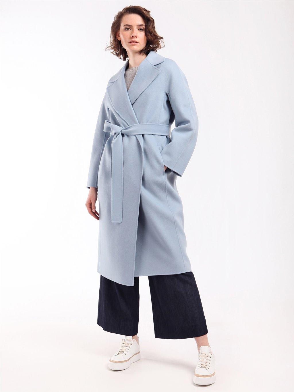 ARIA světle modrý kabát