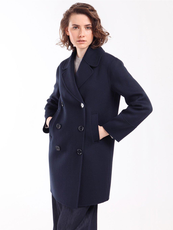 TITANIA tmavěmodrý kabát