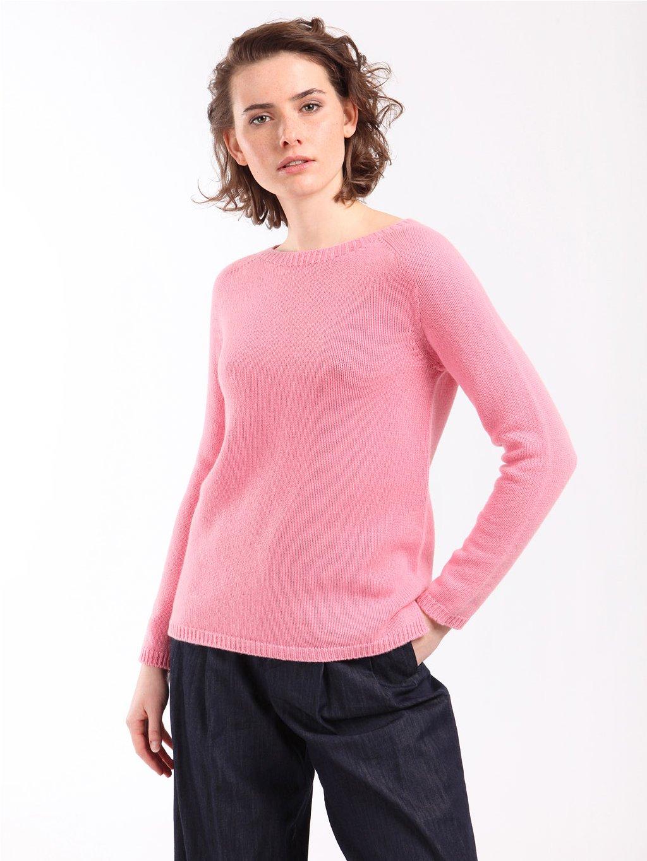 GIORGIO růžový svetr