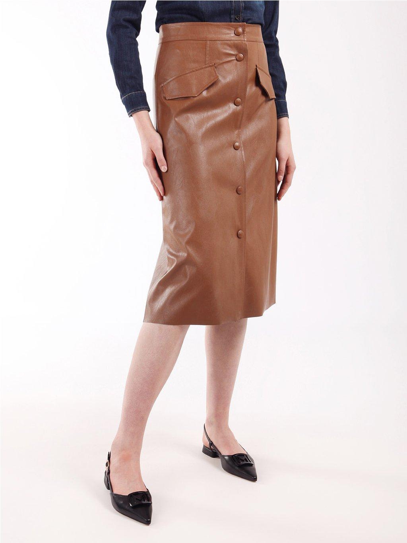 ACQUA koženková sukně