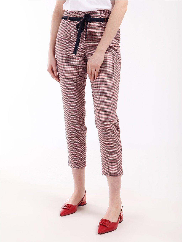 FACHIRO vzorované kalhoty