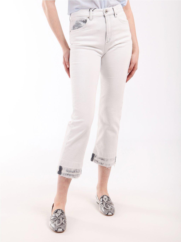 RSLIM bílé džíny