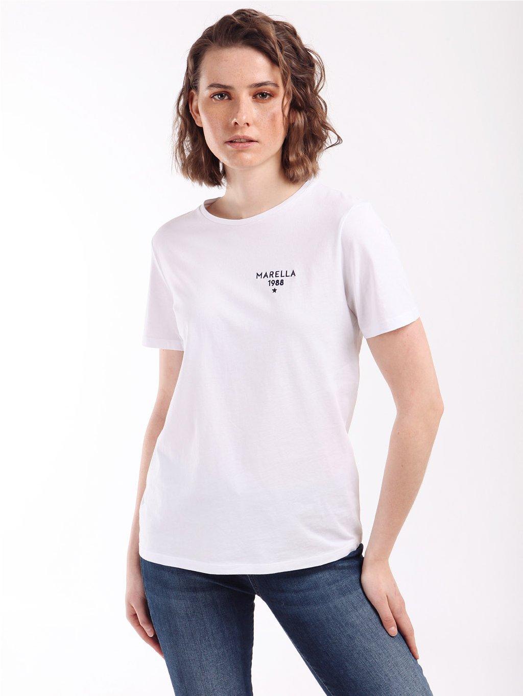 GETTATA bílé triko