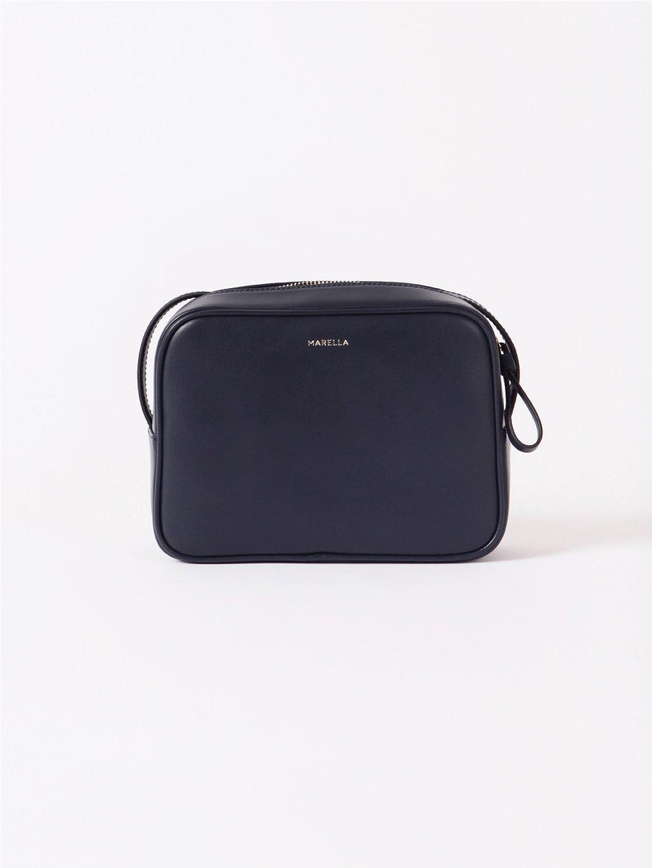 Kožená kabelka Camera bag  MARELLA