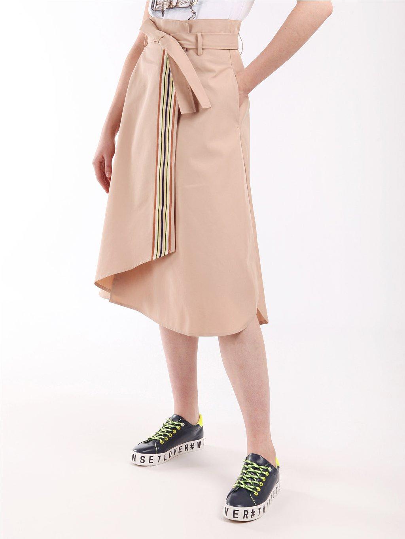 202LI2EBB bavlněná sukně