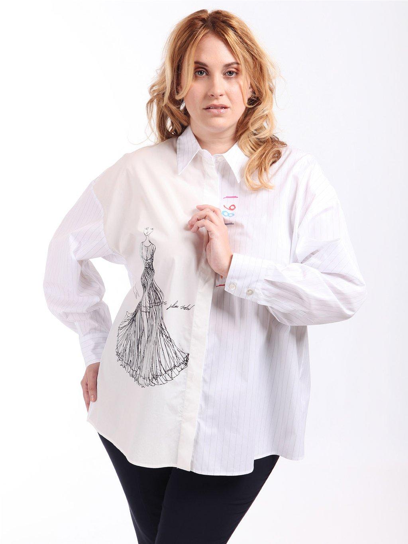BACCARAT bílá košile