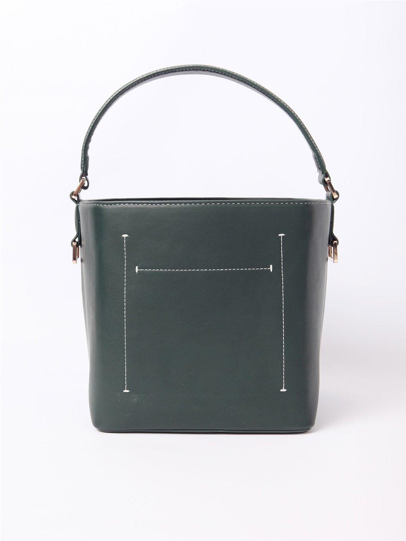 SABRINA zelená kabelka