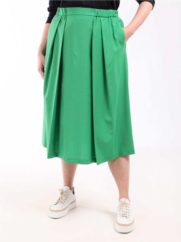 CEDRO zelená sukně