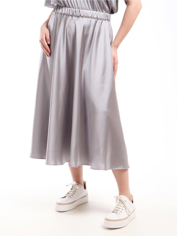 Saténová sukně  MARINA RINALDI