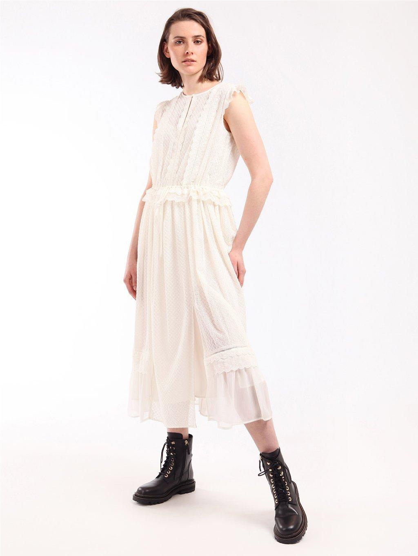 Krajkové šaty bez rukávů  TWINSET
